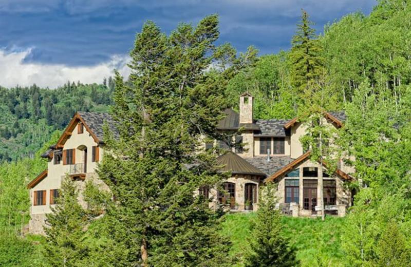 Rental Home Exterior at Triumph Mountain Properties