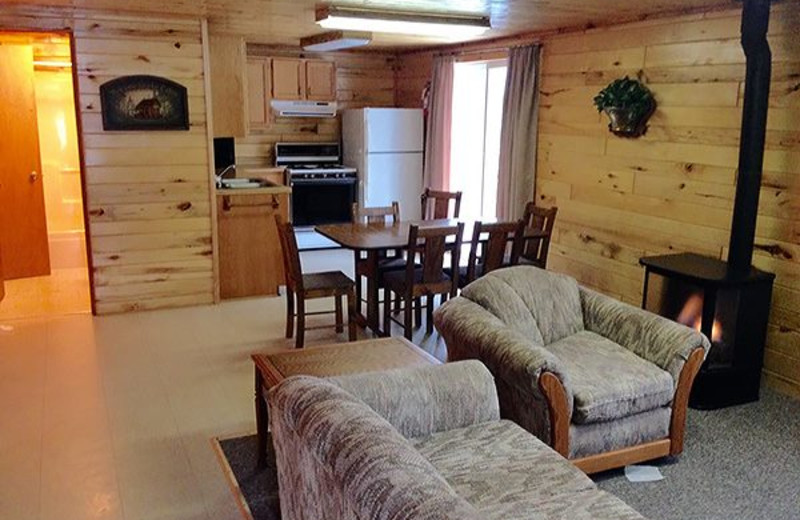 Cottage Accommodations at North Star Lake Resort.