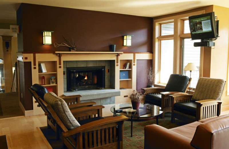 Lounge at Crystal Mountain Resort and Spa.