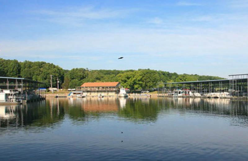 Exterior View of Eddy Creek Marina Resort