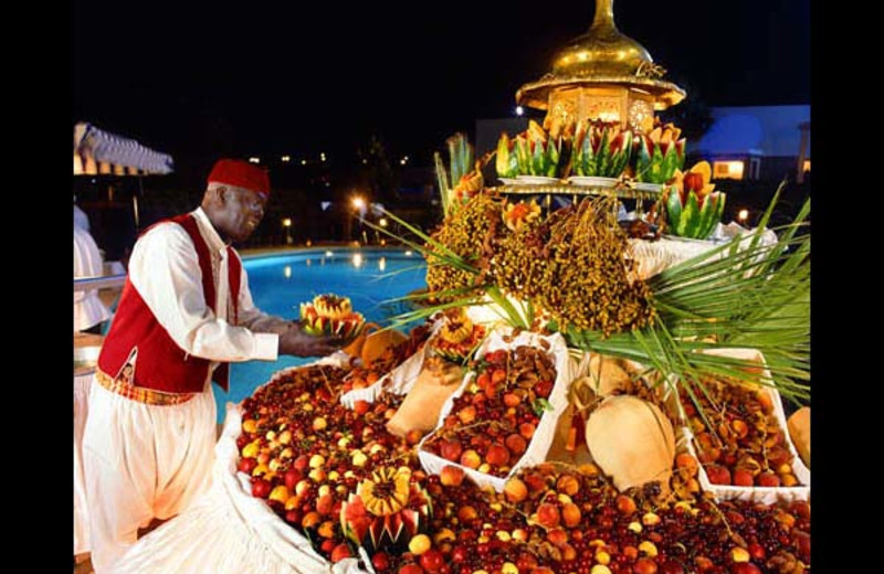 Fresh fruit at Abou Nawas Gammarth.