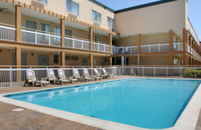 Outdoor Pool at Baymont Inn & Suites Copley
