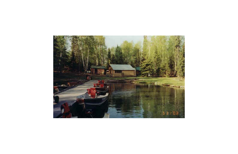Cabins at Pine Point Lodge & Outposts.