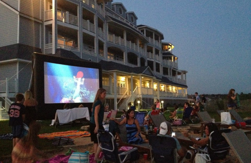 Family Friendly Film at Madison Beach Hotel.