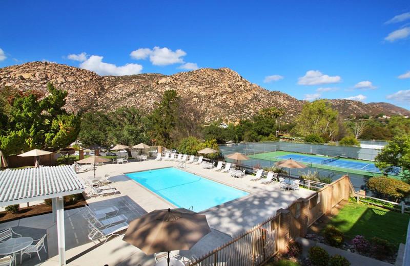 Outdoor pool at Riviera Oaks Resorts.