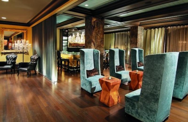 Lounge at Mansion on Forsyth Park.