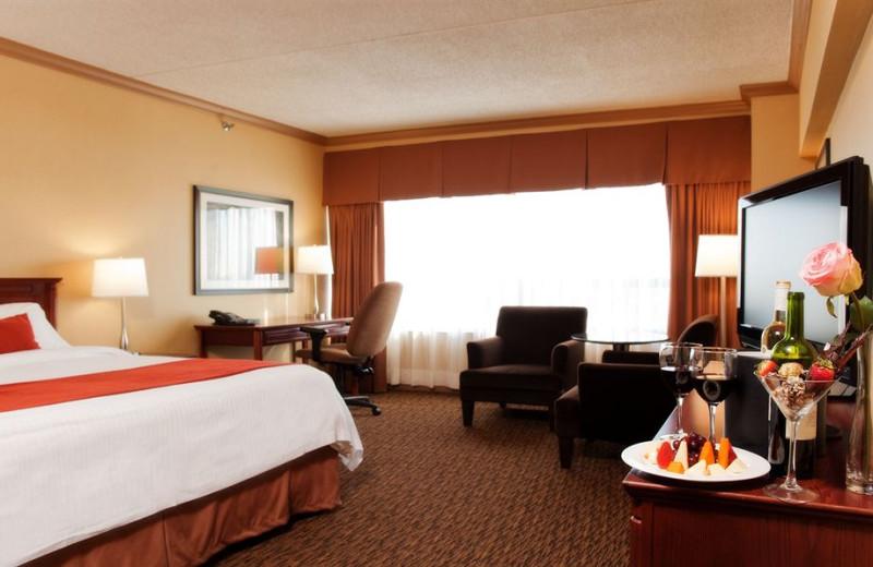Guest room at Delta Brunswick.