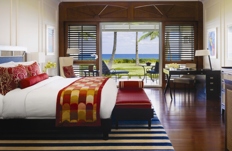 Guest room at One&Only Ocean Club.
