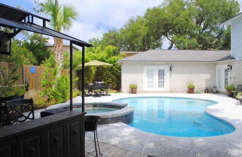 Rental pool at SSI Fun.
