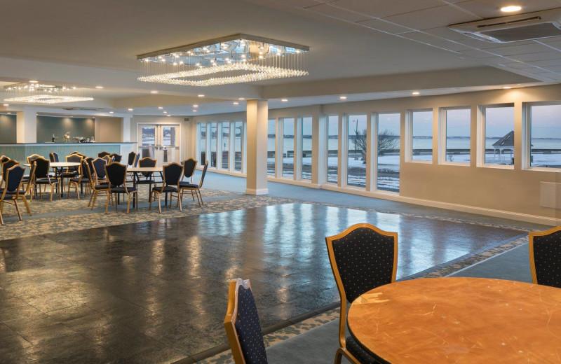 Ballroom at Aqua Blue Hotel.