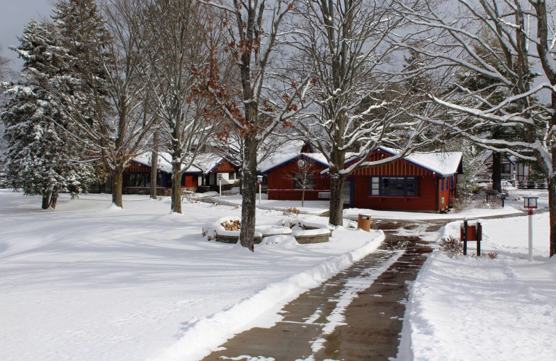 Cabins at Otsego Club and Resort.