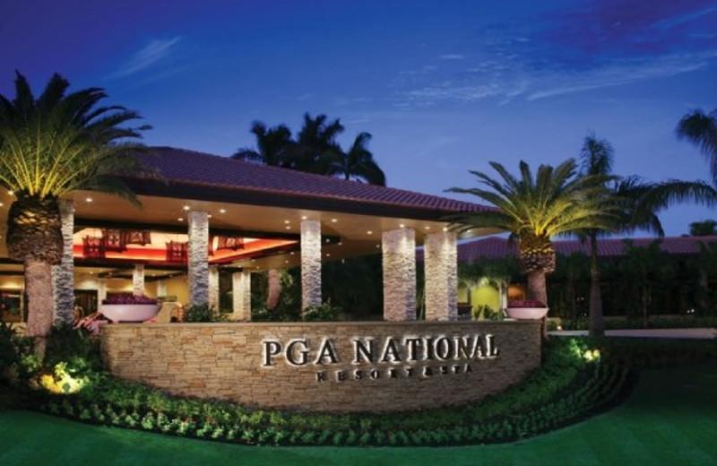 Exterior view of PGA National Resort & Spa.