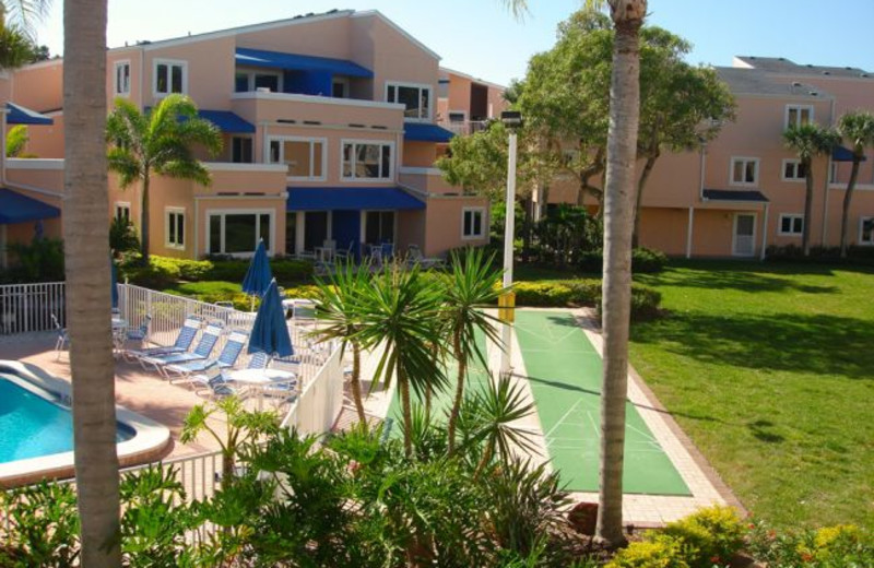 Exterior view at Sand Cay Beach Resort.