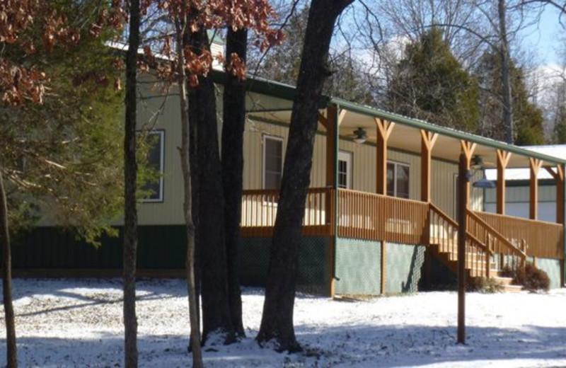 Exterior view at Willowbrook Cabins.