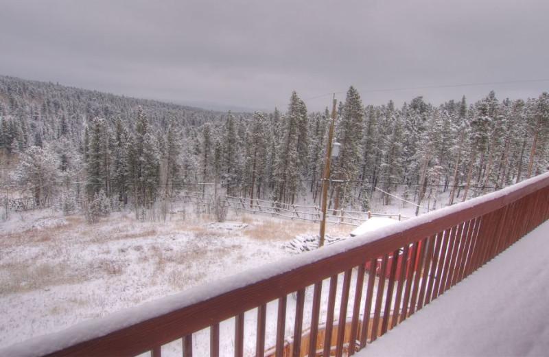 View from SkyRun Vacation Rentals - Nederland, Colorado.