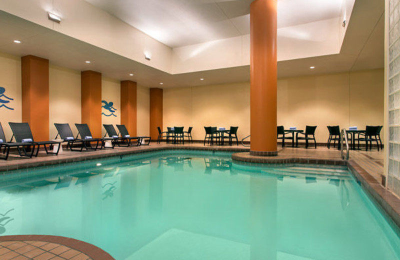 Indoor pool at The Cornhusker.