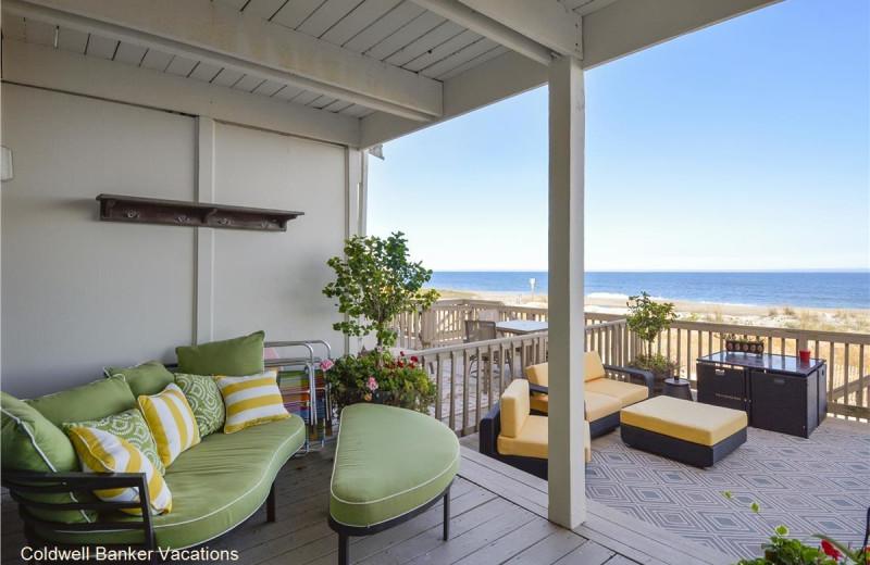 Rental patio at CBVacations.com