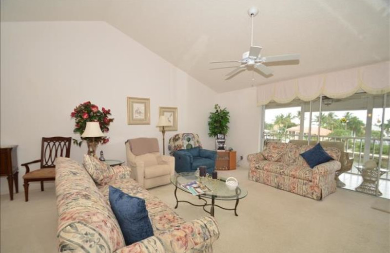 Rental living room at Phase III Real Estate.