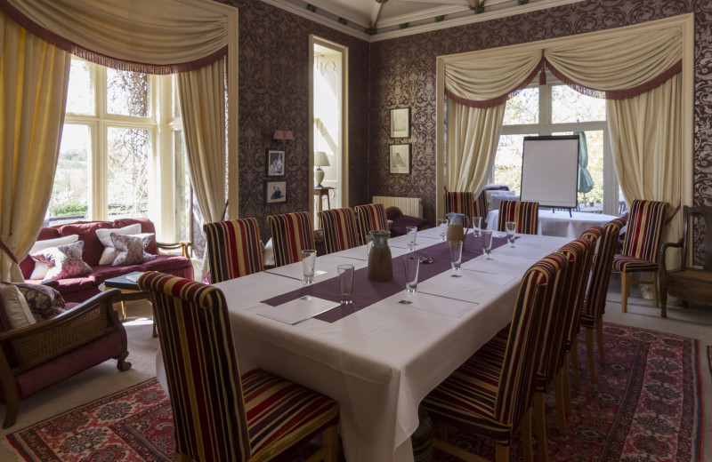 Castle meeting room at Luxury Castle Hire.