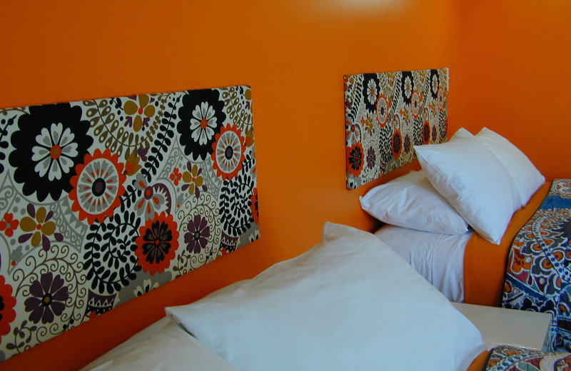 Guest room at Miami Motel.