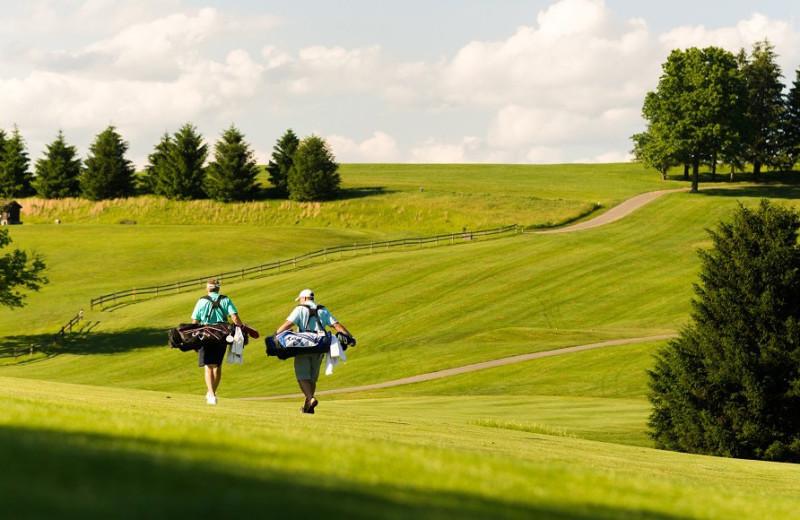 Golf course at Oglebay Resort and Conference Center.