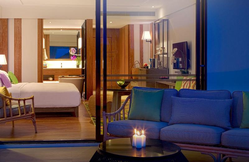 Guest room at The Nai Harn.