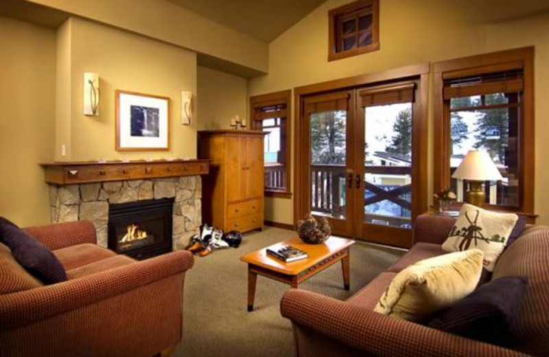 Living Room at The Village at Squaw Valley