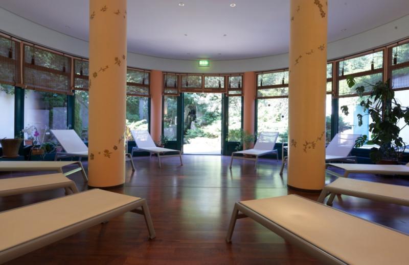 Relaxing at Steigenberger MAXX Hotel Jena.