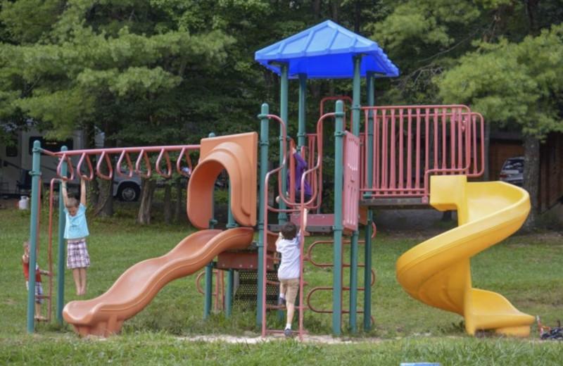 Playground at Lake Ridge Resort.