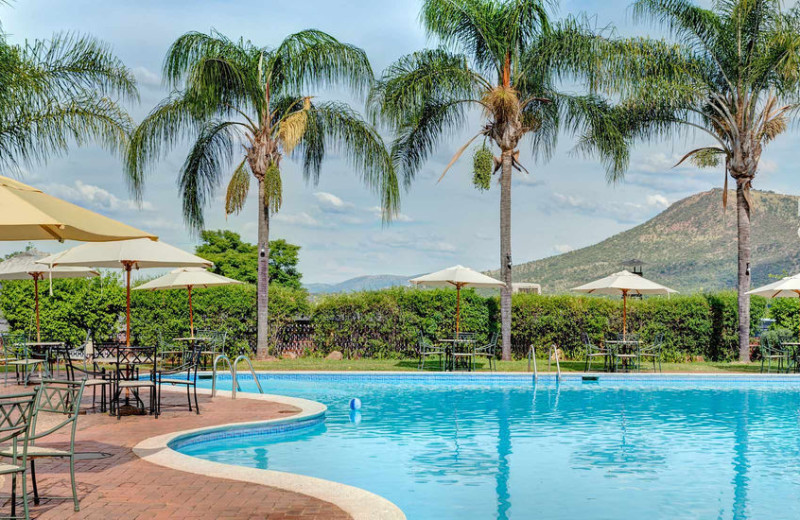Outdoor pool at Hunter's Rest Conference and Holiday Resort.