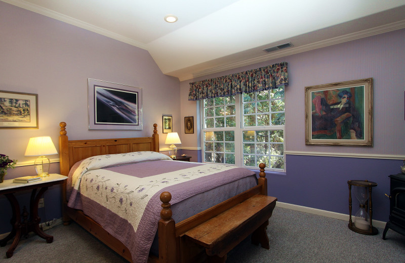 Guest room at McCaffrey House Bed and Breakfast.