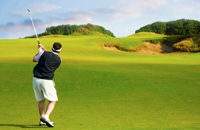 Golf course near Sonoma Coast Villa & Spa Resort.