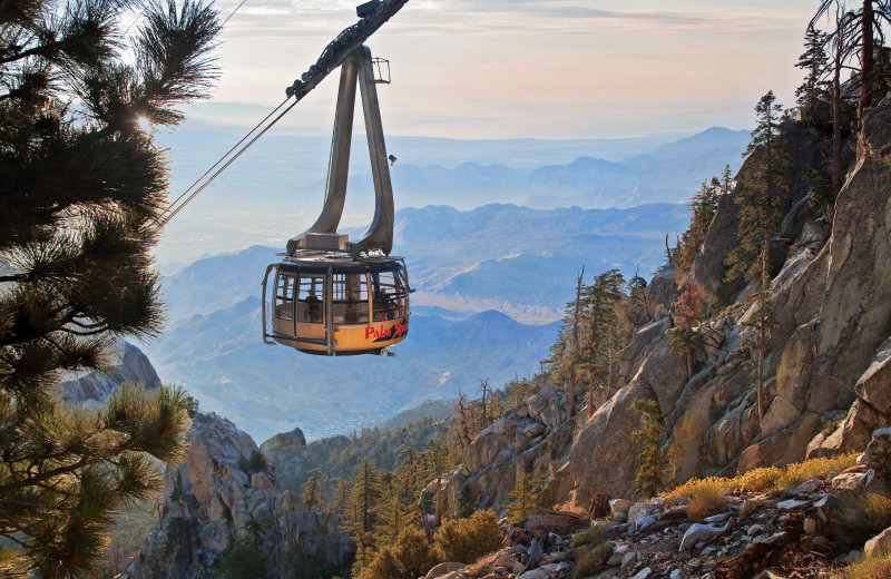 Mountain tram near Altez Vacations - Palm Springs.