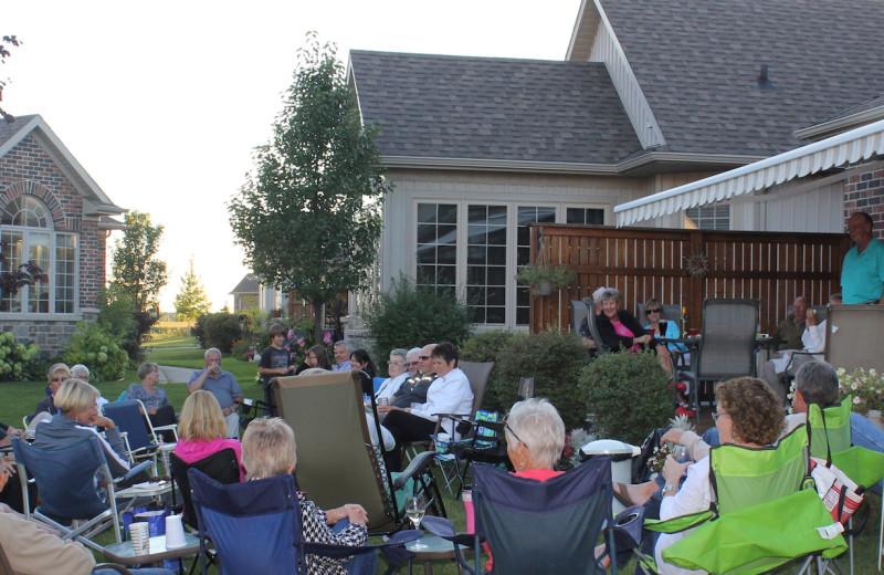 Group at Sawmill Creek Golf Resort & Spa.