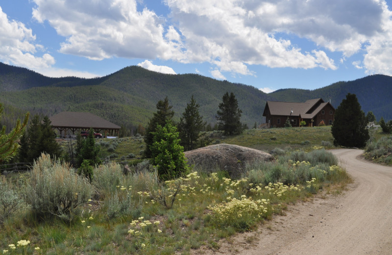 Exterior view of Homestake Lodge.