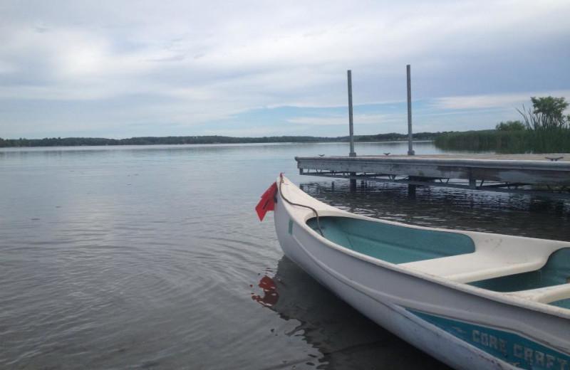 Lake at Swanson's Campground.