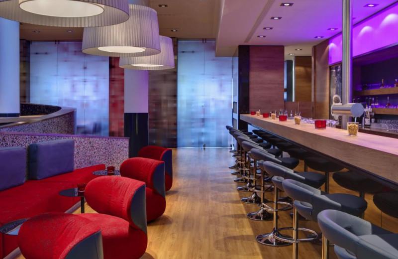 Bar at InterCity Hotel Berlin.