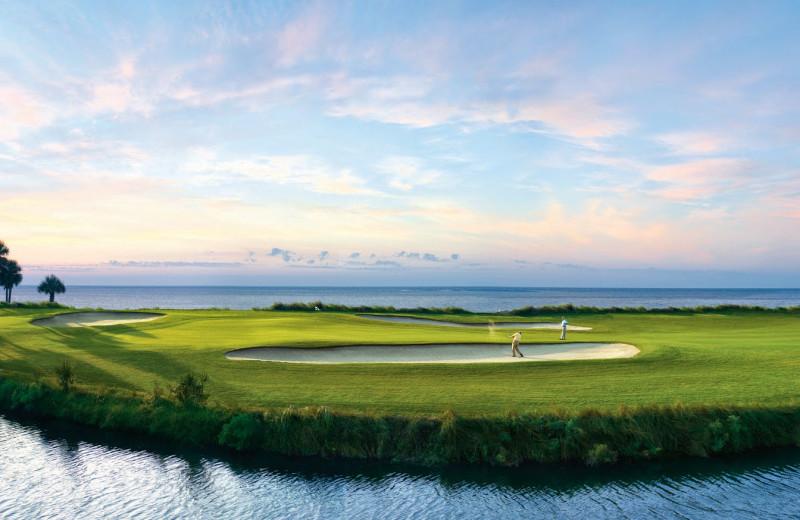 Golf course at Fripp Island Golf & Beach Resort.
