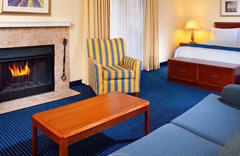 Guest room at Residence Inn by Marriott Ann Arbor.