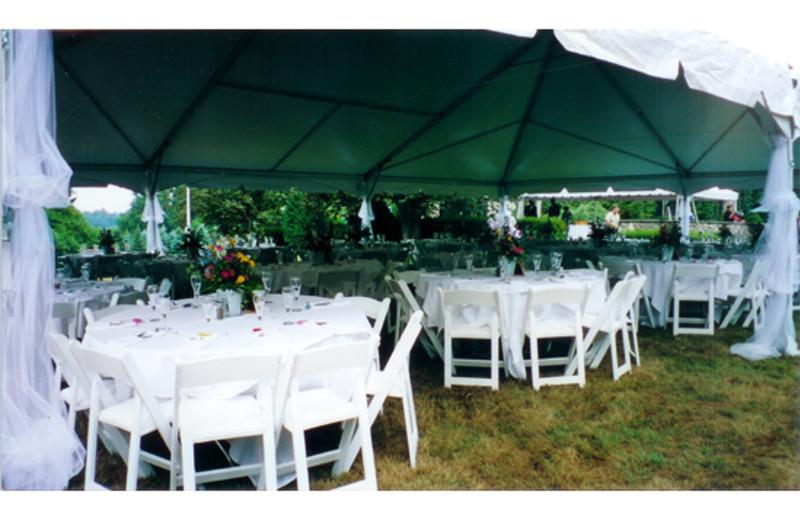 Wedding Setup at Greencrest Manor