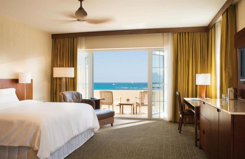 Guest room at The Westin Dawn Beach Resort & Spa.