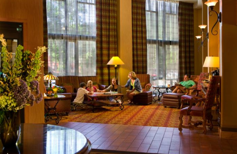 Lobby at Glenwood Hot Springs.