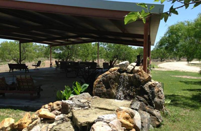 Pavilion at Spanish Dagger Ranch.