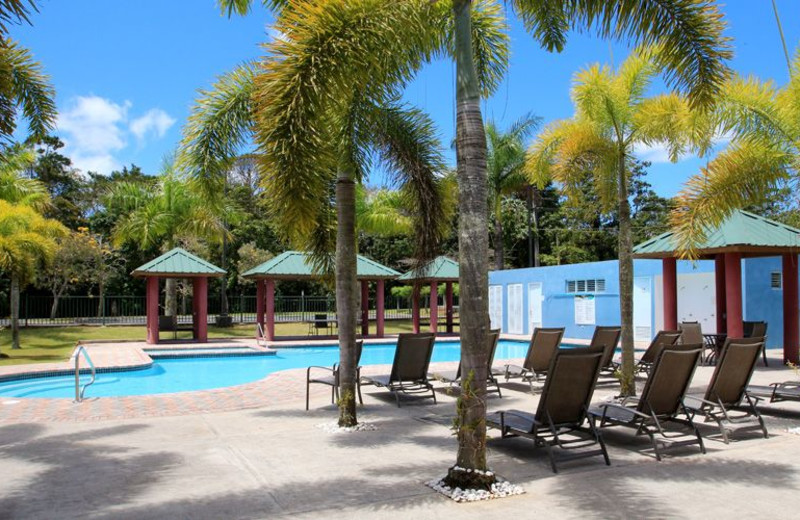 Outdoor pool at Cidra Country Club.
