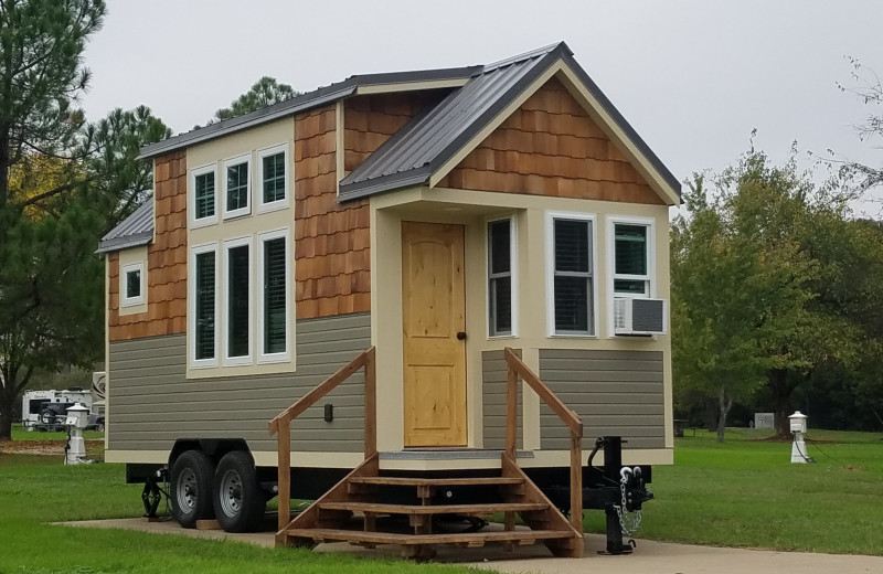 Tiny house at Mill Creek Ranch Resort.