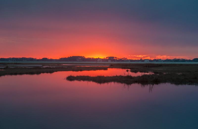 Sunset at CBVacations.com