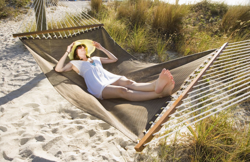 Hammock at Sirata Beach Resort.