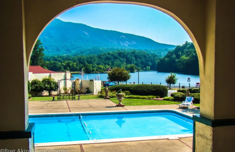 Outdoor Pool at The Lake Lure Inn and Spa