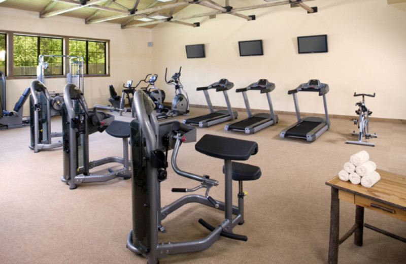 Fitness center at Alisal Guest Ranch and Resort.