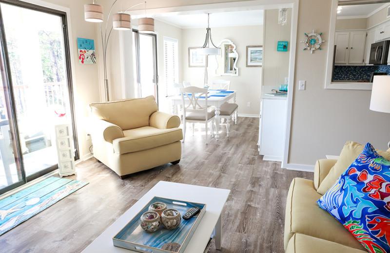 Guest room at Hilton Head Island Beach